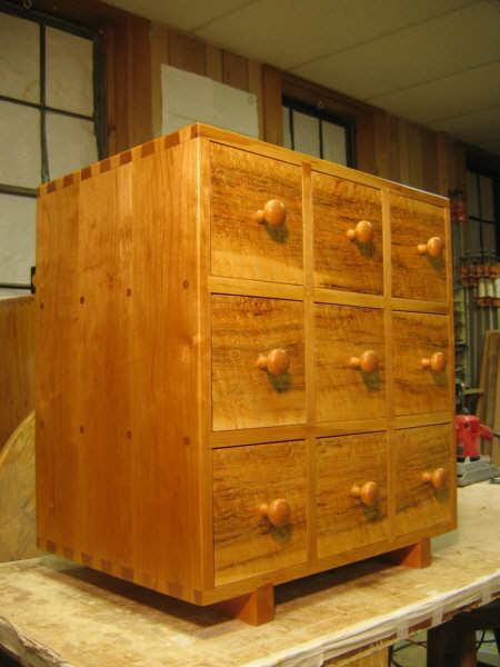 9 Drawer Cd Storage Chest